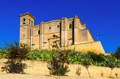 Collegiate church and  monastery of Osuna Royalty Free Stock Photo