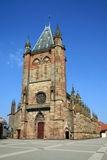 Collegiate church of Niederhaslach. In Alsace, France Royalty Free Stock Image