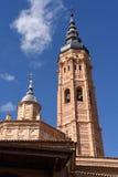 Collegiate Church Of Santa Maria La Mayor, Calatayud. Zaragoza P Royalty Free Stock Photos