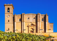 Collegiate church of Osuna.  Andalucia Royalty Free Stock Photo