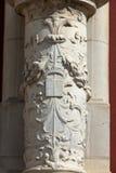 The collegiate church saint of John  the Baptist in Monteresor Royalty Free Stock Images