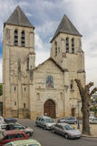 Collegiate church of Saint-Mexme. Chinon. France Royalty Free Stock Photography