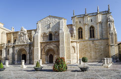 Collegiate Church of San Isidoro. Leon Spain Stock Photos