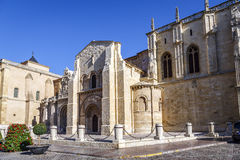 Collegiate Church of San Isidoro. Leon Spain Stock Photography