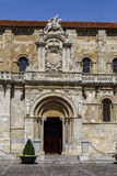 Collegiate Church of San Isidoro. Leon Spain Stock Photo