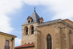 Collegiate Church of San Isidoro, Leon Spain Stock Image