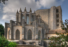 Collegiate Church of Sant Feliu in Girona Stock Image