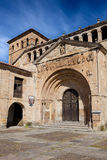 Collegiate church of Santa Juliana. Santillana del Mar, Cantabria, Spain Royalty Free Stock Photography
