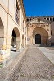 Collegiate church of Santa Juliana, Santillana del Mar Royalty Free Stock Image