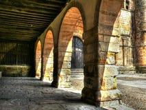 Collegiate Church of Santillana del Mar, arches Royalty Free Stock Photo