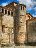Collegiate Church of Santillana del Mar, tower Royalty Free Stock Photo