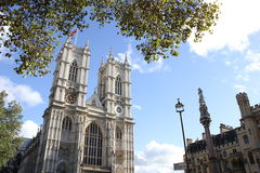 The Collegiate Church of St Peter, London. The Collegiate Church of St Peter at Westminster, popularly known as Westminster Abbey, is a large, mainly Gothic Stock Image