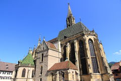 Collegiate church of Thann Stock Photos