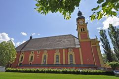 Collegiate church of Wilten, Innsbruck Stock Image