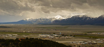 Collegiate Range Colorado Stock Photography