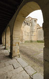 Collegiate of Saint Juliana. Collegiate church of Saint Juliana, Santillana del Mar, Cantabria, Spain Stock Photography