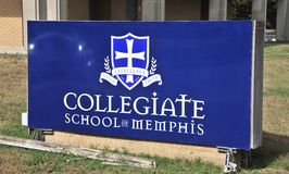 Collegiate School of Memphis Royalty Free Stock Images