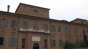 Collegio Cairoli και SAN Francesco Church στην Παβία, PV, Ιταλία απόθεμα βίντεο