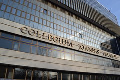 Collegium Joannis Pauli II. In Poland Stock Photos