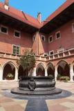 Collegium Maius. Courtyard of the Collegium Maius in Krakow, Poland Stock Image