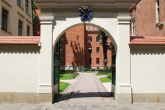 Collegium Maius in Cracow, Poland. Medieval Jagiellonian University, Collegium Maius. Cracow, Poland Royalty Free Stock Photos