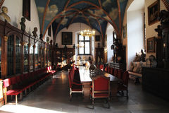 Collegium maius meeting room Royalty Free Stock Photography
