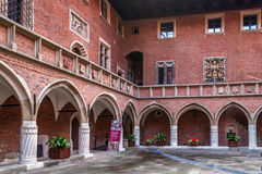 Collegium Maius van Jagiellon-Universiteit Royalty-vrije Stock Foto