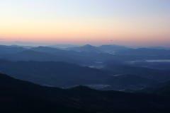 Collere della montagna Fotografie Stock
