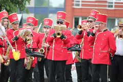 Festival of brass music royalty free stock images