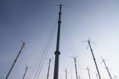 Collettore del vento Fotografia Stock