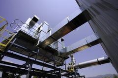 Collettore di polveri della costruzione pesante Fotografie Stock