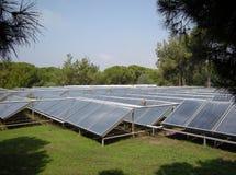 Collettore solare Fotografia Stock