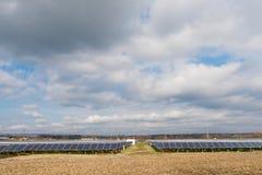 Collettori di energia di Sun Immagini Stock