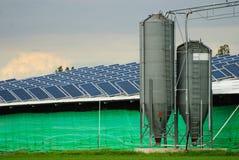 Collettori di energia solare Immagini Stock