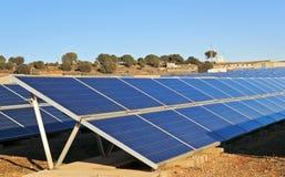 Collettori solari Fotografia Stock Libera da Diritti