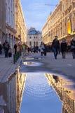 COLLEZ la ruelle de Moscou Russie Vetoshny de magasin d'état Photographie stock libre de droits