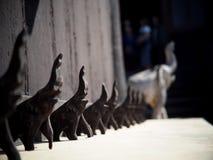 Collezione di arte all'installazione di arte di stile di fantasia della casa del nero di BAANDAMthe Immagine Stock Libera da Diritti