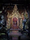 Collezione di arte all'installazione di arte di stile di fantasia della casa del nero di BAANDAMthe Fotografia Stock