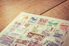 Collezione di francobolli Immagine Stock