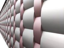 Collezioni dell'immagine di modelli architettonici di alluminio del metallo Immagini Stock