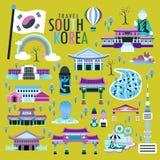 Collezioni della Corea del Sud royalty illustrazione gratis