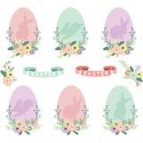 Collezioni delle uova di Pasqua illustrazione di stock
