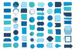 Collezioni di bottoni di progettazione di infographics, elementi illustrazione vettoriale