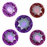 Collezioni di gemme illustrazione vettoriale