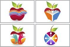 Collezioni di logo di Apple royalty illustrazione gratis