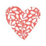 Collezioni di vettore di cuore disegnato a mano isolate su fondo trasparente Clipart di giorno di biglietti di S. Valentino di am illustrazione vettoriale