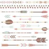 Collezioni tribali della freccia illustrazione vettoriale