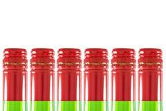 Colli della bottiglia Immagini Stock
