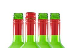 Colli della bottiglia Fotografia Stock Libera da Diritti