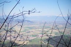 Colli euganei 2 免版税库存图片